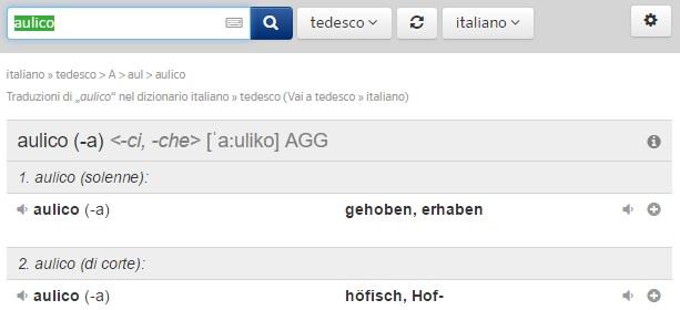 Aulico tedesco